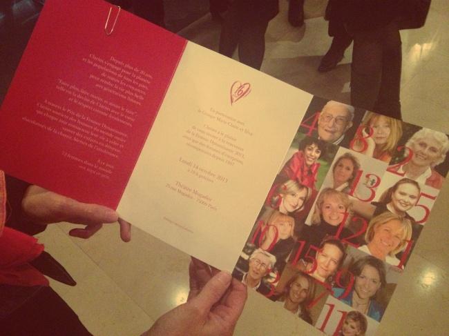 J'ai été invitée… à la cérémonie femme dynamisanteClarins!