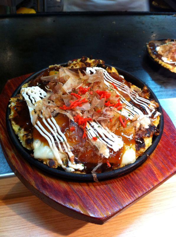 J'ai goûté… L'Okonomiyaki chezAki!
