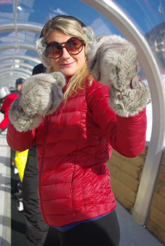 coat PROTEST / glasses KOMONO / mittens - earmuffs BARTS