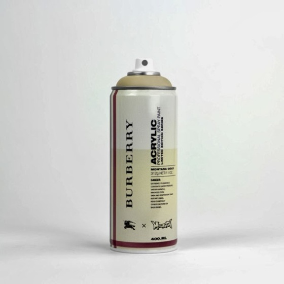 """Spray Can Project"" - Burberry par Antonia Brasko"