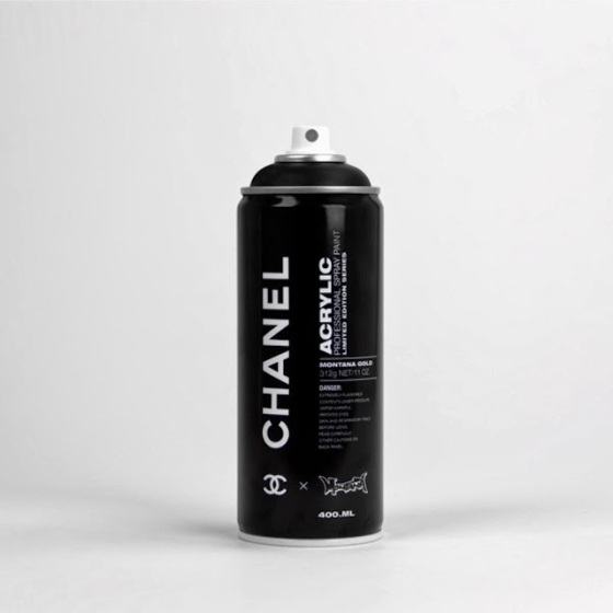 """Spray Can Project"" - Chanel par Antonia Brasko"