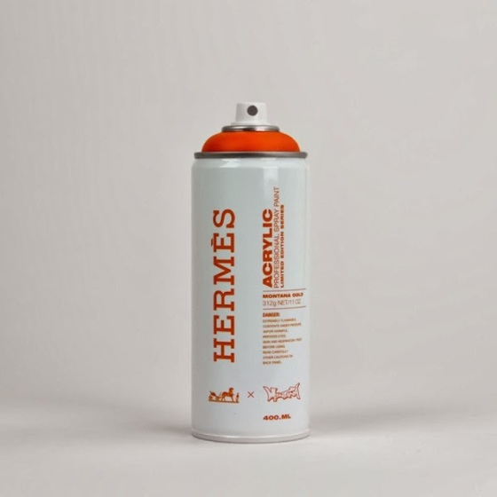 """Spray Can Project"" - Hermès par Antonia Brasko"