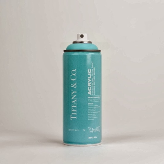 """Spray Can Project"" - Tiffany & Co par Antonia Brasko"