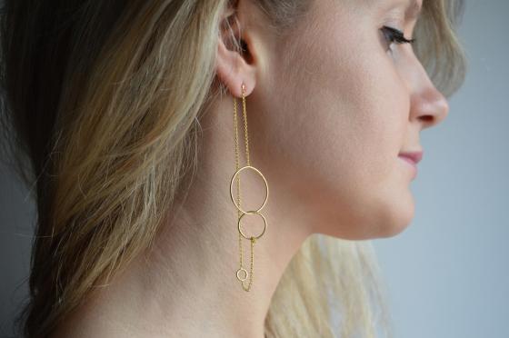 Trinity Long Earrings