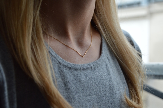 Unity Triangle Necklace