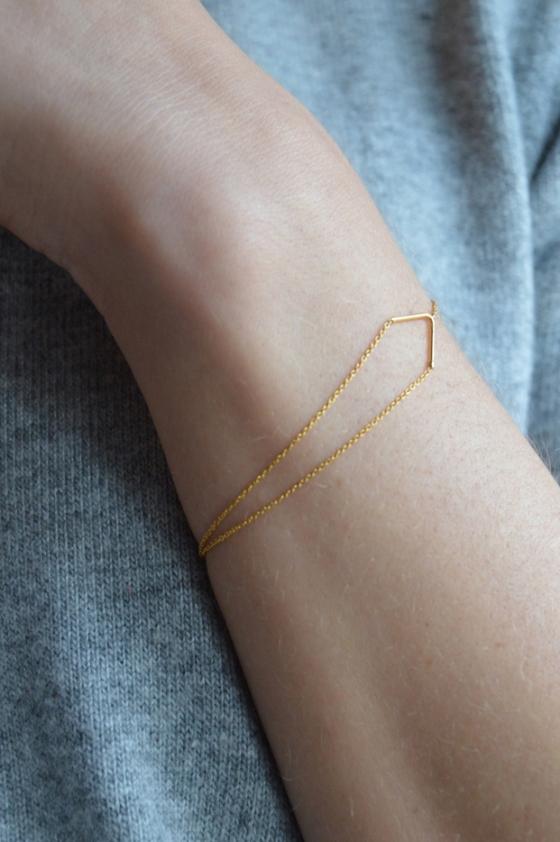 Unity Triangle Bracelet