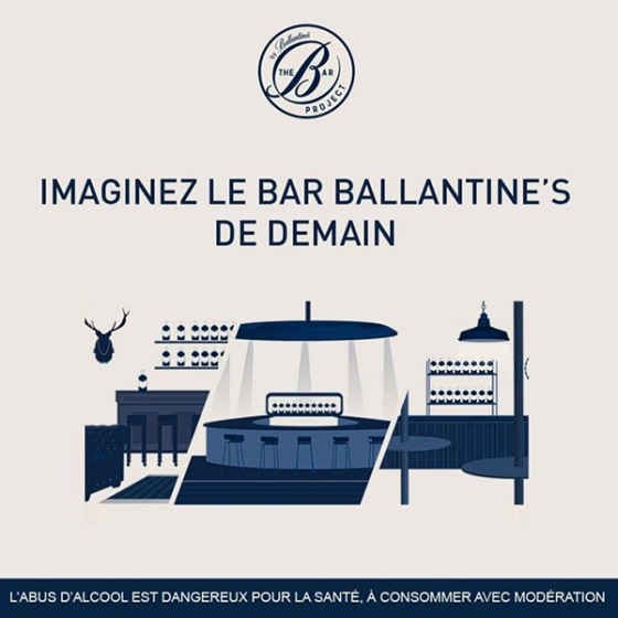 Imaginez le bar de demain par ballantine's