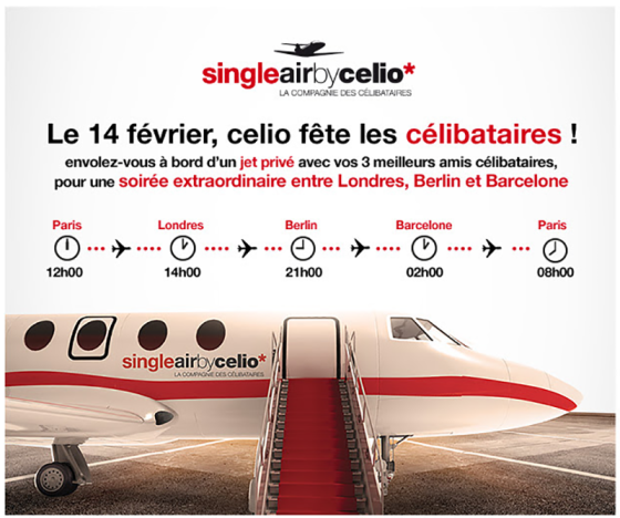 single air by celio