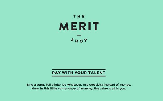THE MERIT SHOP