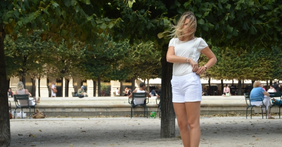 La city tenue blanche
